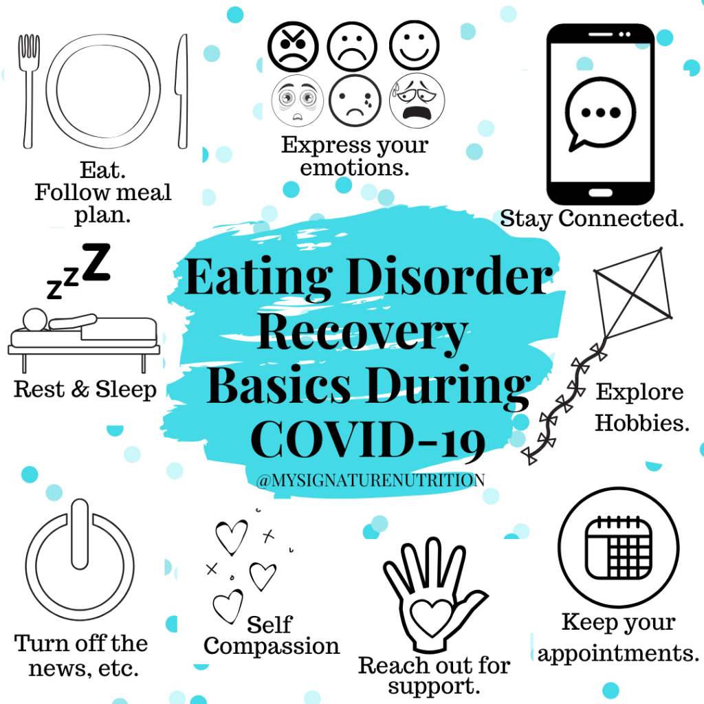 11 Tips To Support Consistent Eating For Eating Disorder Recovery During Covid 19 Or Another Stressful Event Mysignaturenutrition