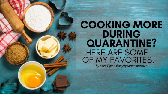 what to cook during quarantine
